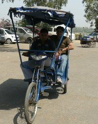 baterry operated rickshaw