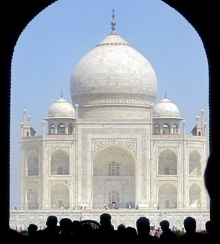 taj - through the main gateway