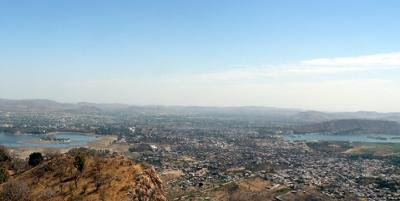Udaipur - view from the top